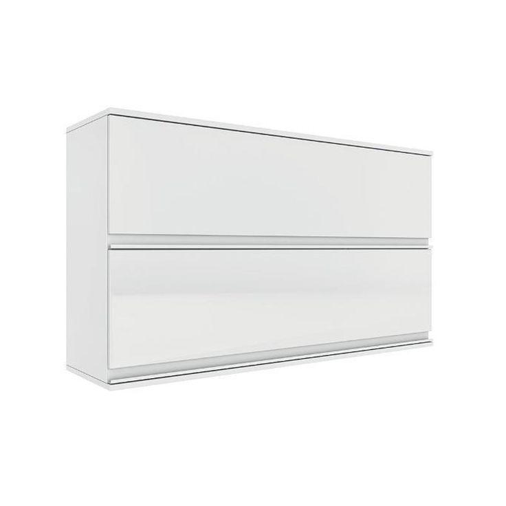 Armario de Parede Horizontal Itatiaia 2 Portas Belissima Plus Branco