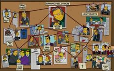 """The Springfield mafia, aka the Springfield mob, is an Italian-American mafia crime syndicate based in Springfield, and run by Fat Tony& Don Vittorio DiMaggio. The mafia often punishes people for things that are either an insult to them or if they don't pay back their debts. For instance, when Homer ended up borrowing money from Fat Tony and losing it in a football game, Fat Tony """"hammered down"""" a payment plan by having Louie hammer Homer's hand (using two hammers if he m..."""