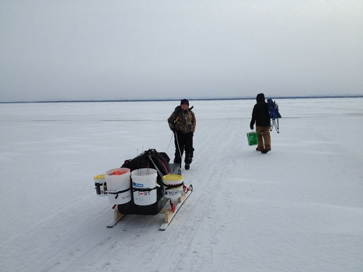 9 best brian ice fishing images on pinterest ice fishing for Ice fishing snowmobile
