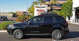 2015 Subaru Forester Black
