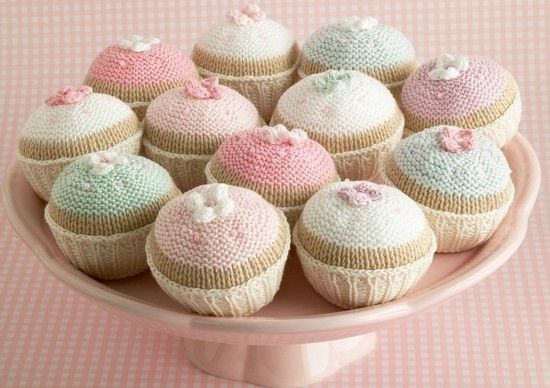 knitting+pattern+for+a+cupcake+par+Littlecottonrabbits+sur+Etsy,+£2,00