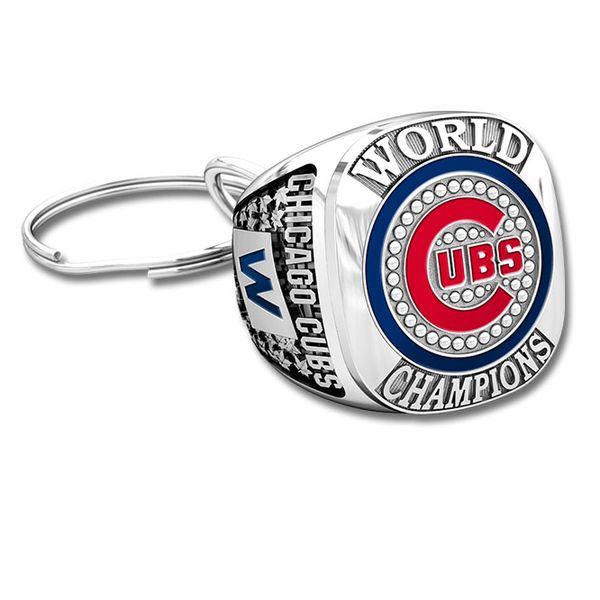 Chicago Cubs 2016 World Series Championship Keyring  #ChicagoCubs #Cubs #FlyTheW #MLB #ThatsCub