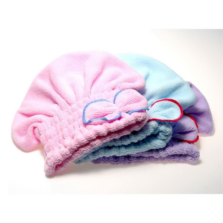 2016 Useful Home Textile Hair Quickly Dry Hat Microfiber Hair Turban Wrapped Towel Bathing Accessories
