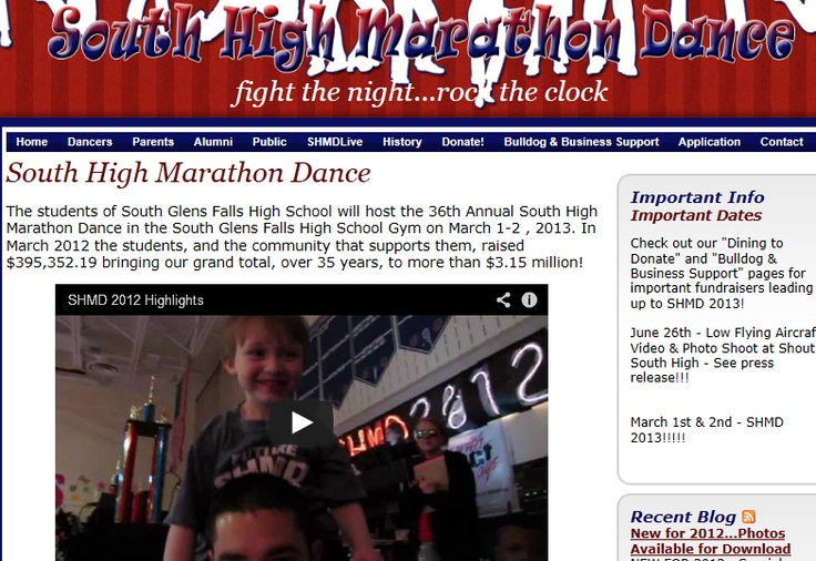 South High Marathon Dance is an amazing fundraiser that my high school holds every year. We raise money by dancing for 28 hours and each dancers donates money, while many others donate too! We help so many people in the community going through hard times! This is my donating page http://www.active.com/donate/SHMD2013/AlexgGreene you can go to this link and donate money to the Marathon Dance!!! Any amount will help greatly. For more info go to shmd.org REPIN PLEASE!!