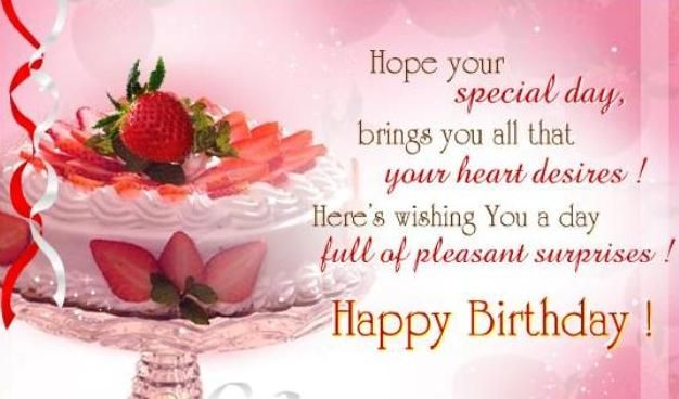 Happy birthday messages for friends - Friends birthday wishes