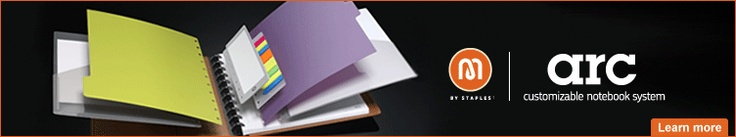 I just bought one of these - brown leather, and it is AWESOME!  No more cutting tabs off sheets to file, or flipping pages in your meeting notebook!  Repositionable pages that really DO keep their shape.