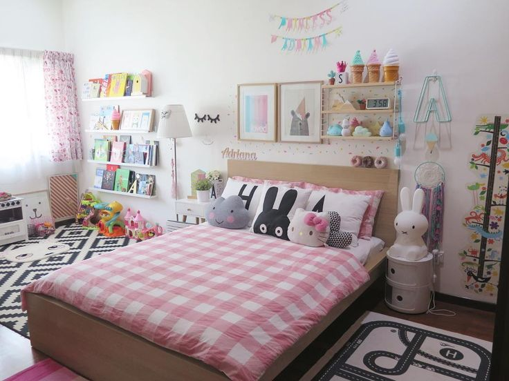 Fantastic kids room with childrens books on ledges a miffy lamp and miniwilla rabbit