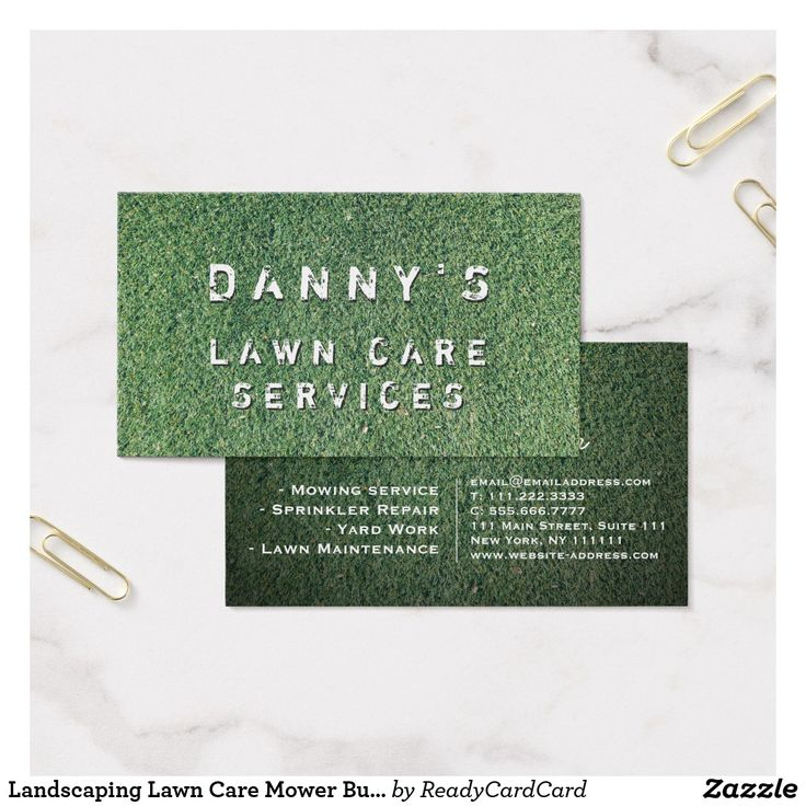 58 best Business Cards: Landscaping images on Pinterest | Business ...