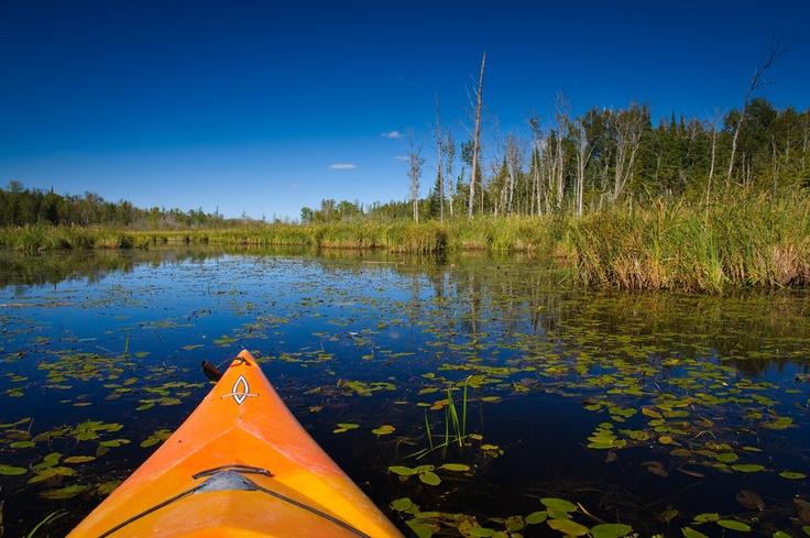 """Kayaking Moose Lake, Manitoba. 500px / Photo """"Tranquility"""" by John Klassen"""