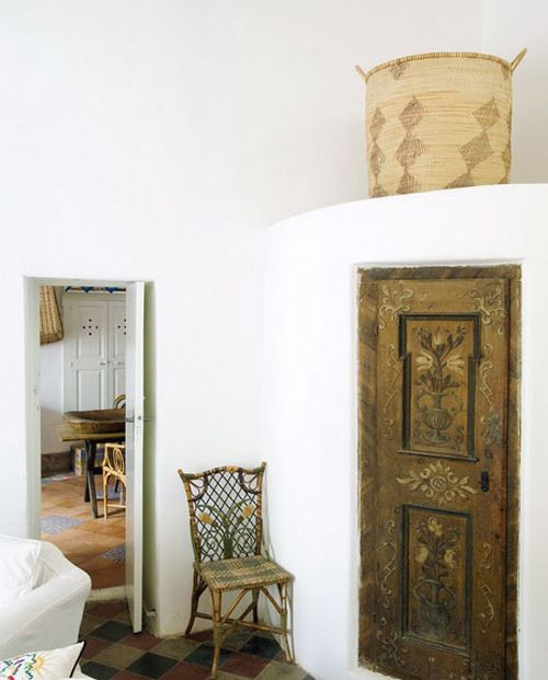a summer home on panarea, italy by the style files, via Flickr  #rustic decor