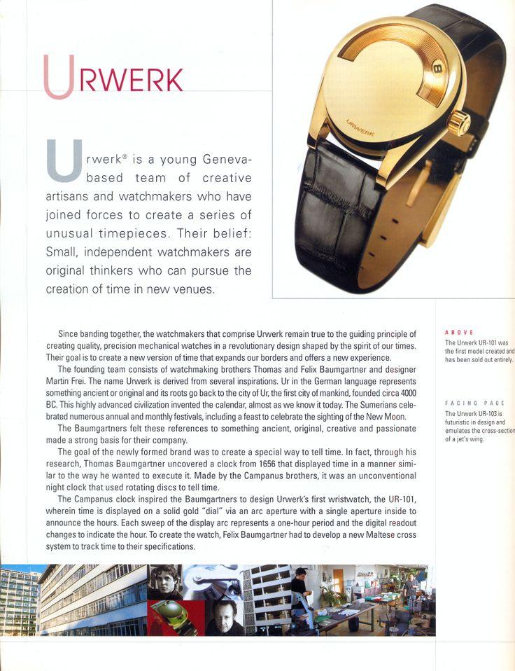 Watches International 2005