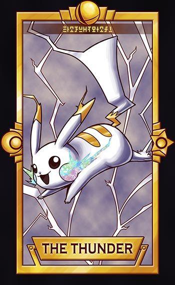 Pikachu - The Thunder by Quas-quas