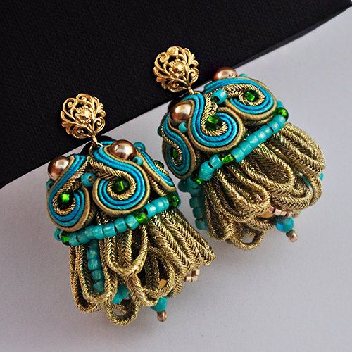 Soutache 3D For Queen by Artspirale on Etsy