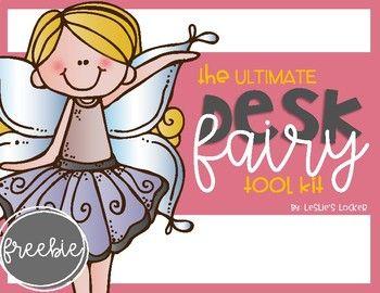 The Ultimate Desk Fairy Tool Kit FREEBIE