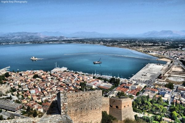 View from the Castle of Palamidi
