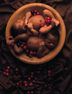 I want to be Anne Geddes' assistant.
