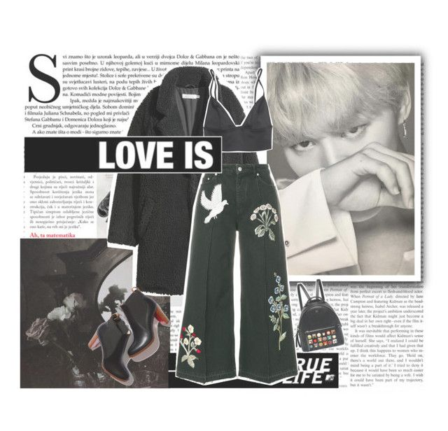 """""""«Sunshine, Jimin oppa photoshoot»"""" by parkeunseo on Polyvore featuring Alexander McQueen and Fendi"""