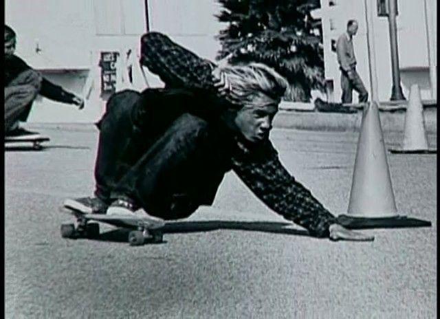 Young Kathy Alva | Skater: Jay Adams, Trick: Carving