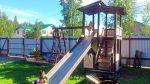 Детский игровой комплекс, горка, качели, щведка, песочница!