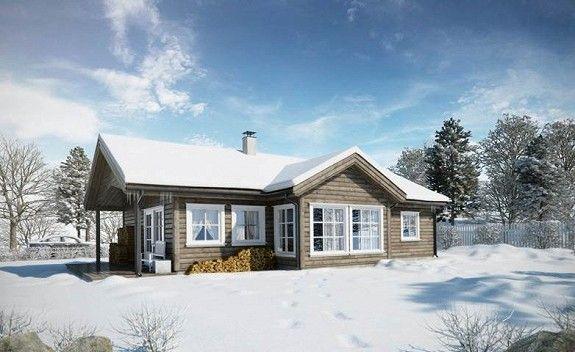 Prosjektert hytte Hausestølen Ål -