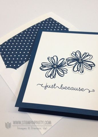 Stampin up stampinup stamps it mary fish pretty flower shop pansy punch dozen thoughts card idea