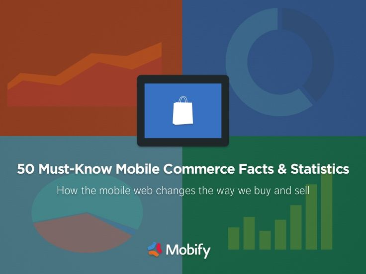 50-mustknow-mobile-commerce-facts-and-statistics by Mobify via Slideshare