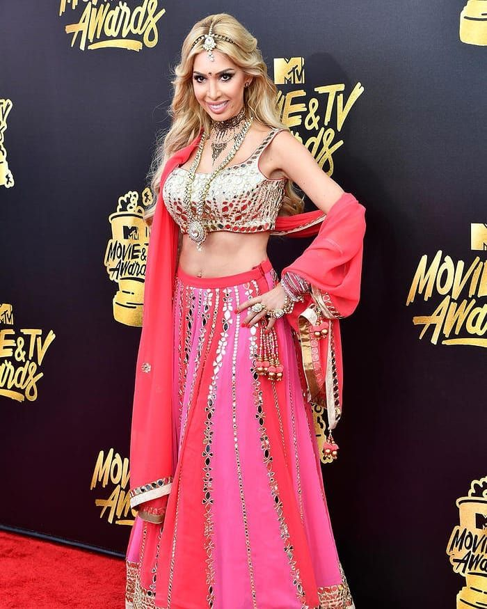 Farrah Abraham at Mtv Movie and TV Awards 2017 @farrah__abraham #farrahabraham #farrahabrahams #mtvmovieandtvawards