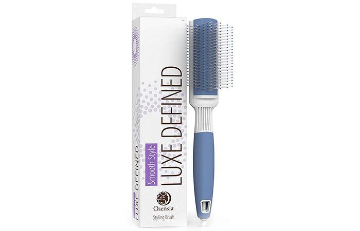 Osensia Ultra Small Round Brush In 2020 Best Hair Brush Hair Brush Cool Hairstyles
