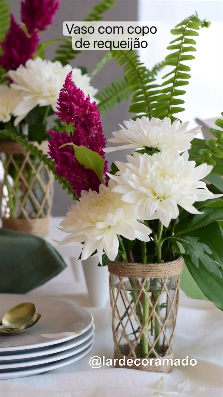 Diy Wedding Decorations, Table Decorations, Sisal, Beach House Decor, Home Decor, How To Make Diy, Creative Decor, Craft Party, Spring Crafts