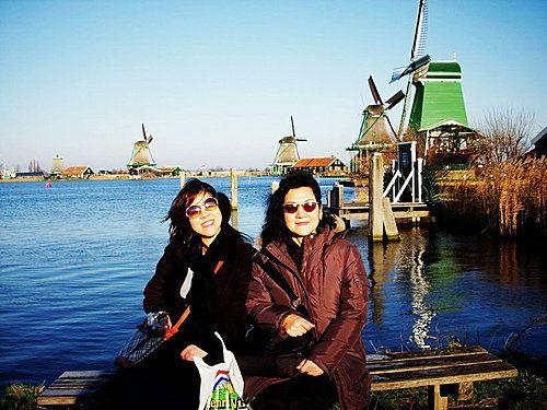 荷蘭~桑斯安斯Zaanse Schans風車村Windmill Village-荷蘭4寶:風車、木鞋、奶酪、鬱金香(2) @ 燕青大美女部落格 :: 隨意窩 Xuite日誌