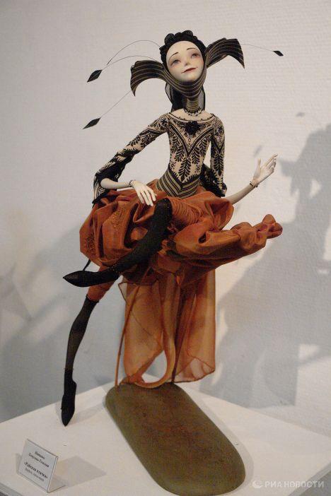 "Unique dolls displayed at ""Travels through Time"" exhibition | Image galleries | RIA Novosti"