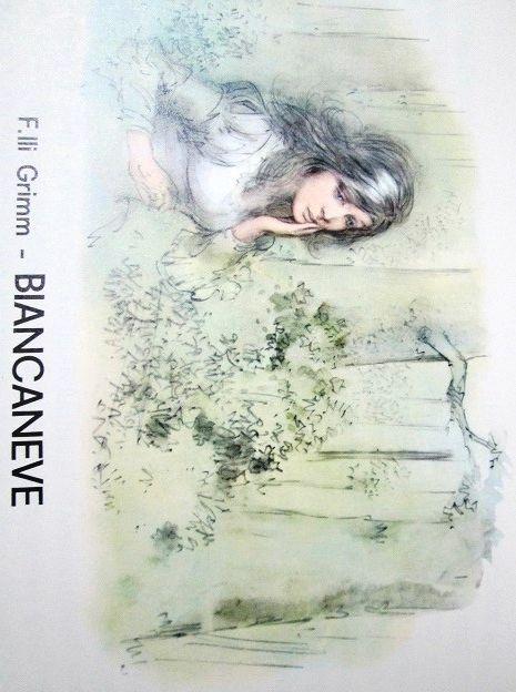 """Snow White - Biancaneve  dal libro """"Le fiabe meravigliose"""" Illustrations by  Marino (Marino Guarguaglini)"""