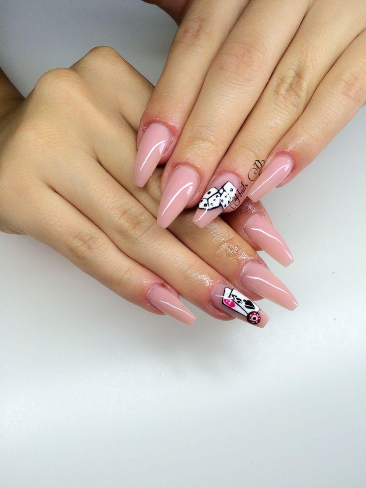 Nails design#poker nails#🎲🕶