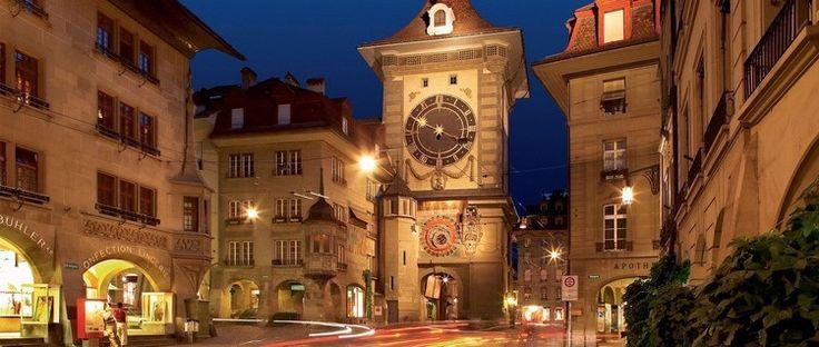 Wie kein zweites bernisches Bauwerk stand früher der Zeitglockenturm im Mittelpunkt der Stadt Bern.
