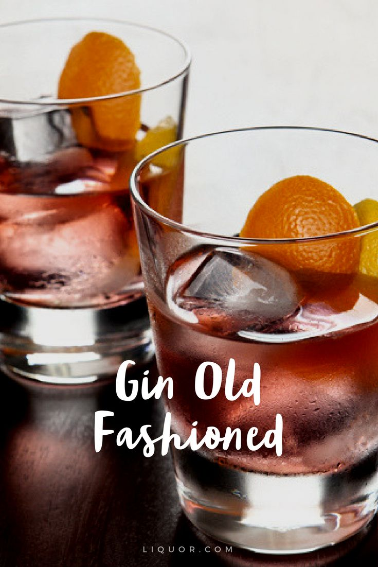 We love a good twist on the #classic old fashioned. This one has #gin in it. Try it out!