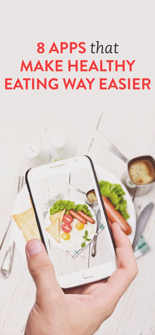 8 healthy eating #apps you should try. Don't worry, there are NO calorie trackers or diet apps are on this list — just programs that allow you to be informed and assist you in your day-to-day ordering, shopping and eating...no matter what your goals or needs are right now.