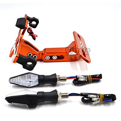 Nouvelle Moto universel réglable support de plaque d'immatriculation avec LED Tour Signal lumière  https://www.amazon.fr/BJ-Global-Nouvelle-universel-dimmatriculation/dp/B06XTPSJFG/ref=sr_1_28?s=automotive