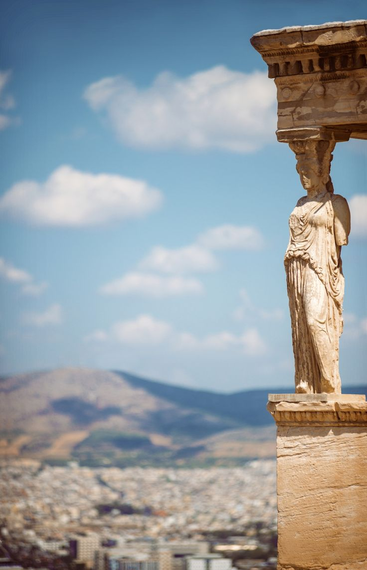 Athens Parthenon - Caryatid Porch