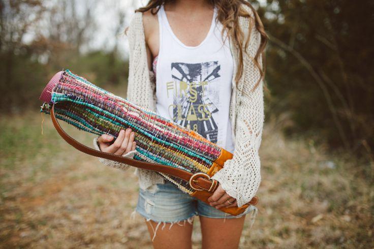 DIY: yoga mat bag