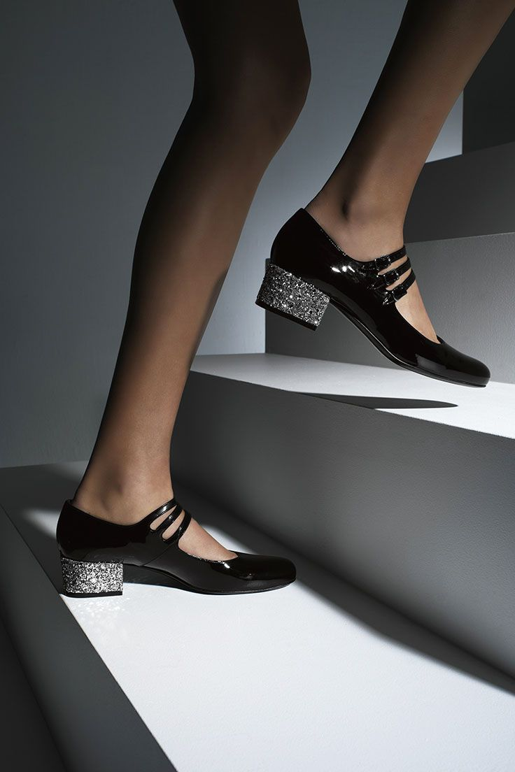 Put your best foot forward with shoe styles from Saint Laurent.