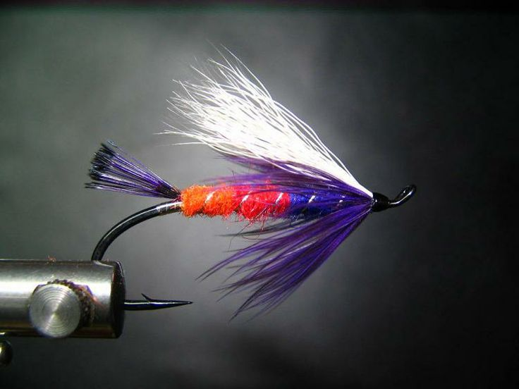 Freight train summer steelhead fly popular on the for Best lures for river fishing