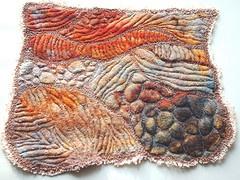 Cécile Meraglia (felt + embroidery?)