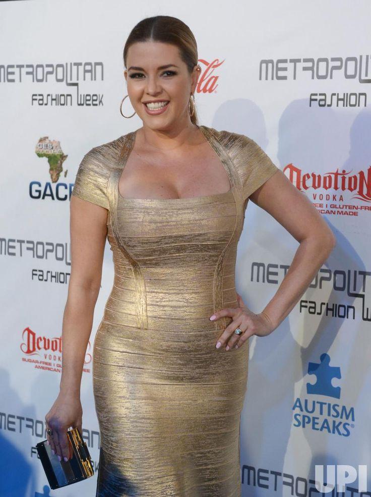 Alicia Machado attends fashion week gala in California - UPI.com