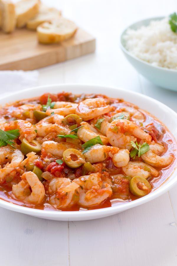 recipehouse:  (via Camarones Guisados (Puerto Rican Stewed Shrimp) - Kitchen Gidget)