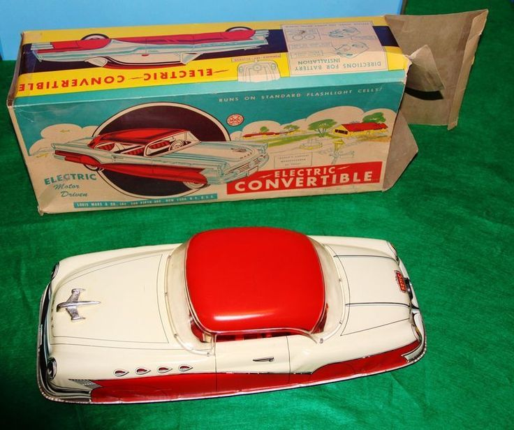 Buick Electric Car: 17 Best Images About TIN TOY CAR On Pinterest