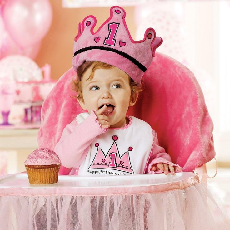 Pink High Chair Cover from BirthdayExpress.com