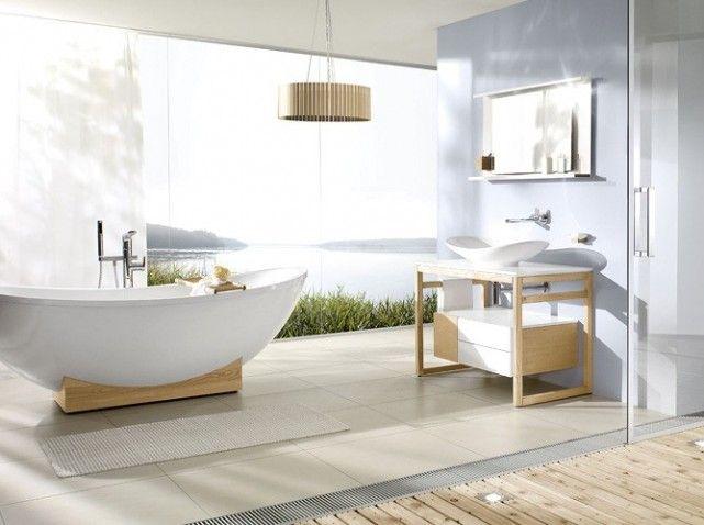 21 best salles de bain zen images on pinterest | zen bathroom ... - Salle De Bain Epuree