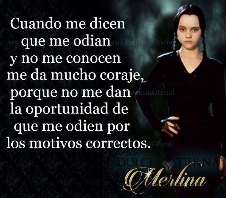 Merlina realidad