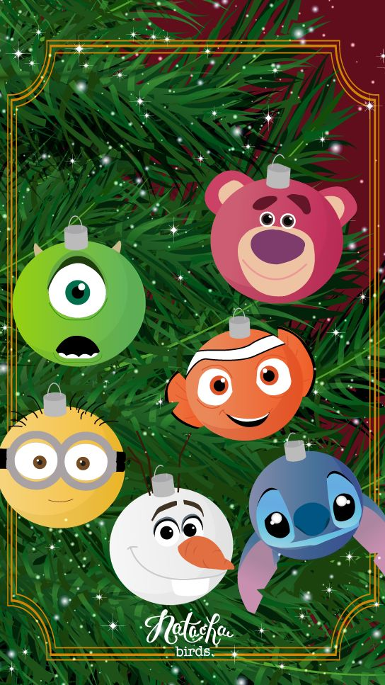 Wallpaper Iphone Disney Christmas Wallpapers Magic Art Pixar Tsum Bird