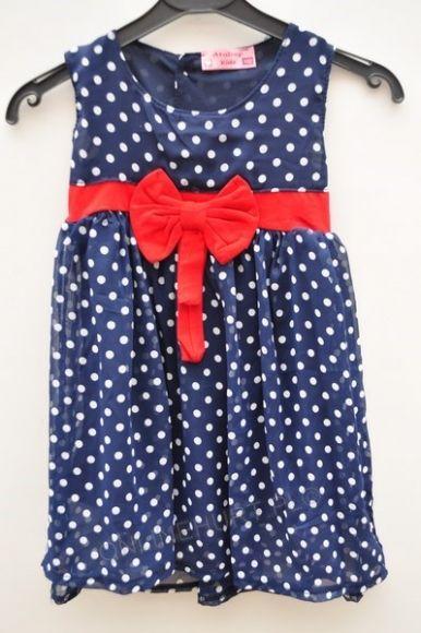 Sukienka dziewczęca ONL0130  _D7 (92-110)